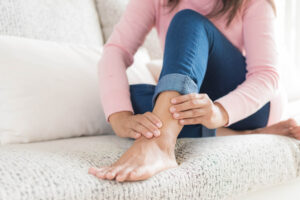 ankle and foot pain injury